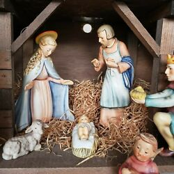 Hummel Nativity Figurines - 13 Piece