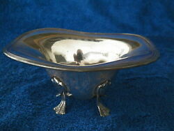Ssmc Sterling Silver 4 Footed Bowl