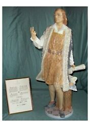 Rare Limited Edition Lladro Columbus 2 Routes 1740 - Mint In The Original Box