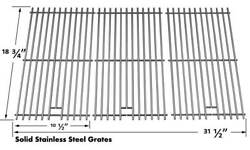 Master Forge B10lg25,720-0709c,720-0826,720-0727,730-0709 Ss Cooking Grid