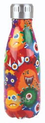 Oasis Insulated Stainless Steel Drink Bottle 350ml Twist Off Lid Monsters
