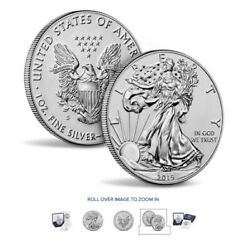 2019-s American Eagle One Ounce Silver Enhanced Reverse Proof Coin In-hand