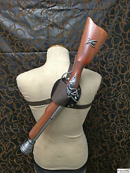 Blunderbuss back holster easy to draw! High quality! Design for denix 1094G! $92.01