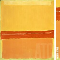 36wx39h Number 5 Number 22 By Mark Rothko - Yellow Canary Choices Of Canvas