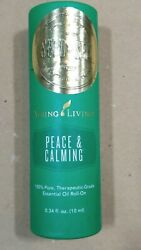 Young Living Essential Oils Peace & Calming Roll-On Roller Blend 10ml SEALED