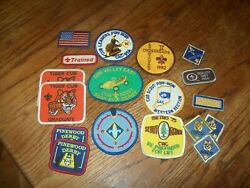 Cub Scout Badges And Assortment Of Metal Skill Awards- Various Conditions
