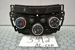 17 18 19 Chevrolet Trax Ac And Heater Control Used Stock 3392-ac