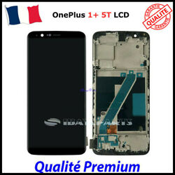 Pour Oneplus 5t A5010 Ecran Lcd Display Complet Tactile Screen With Frame 6.01and039and039