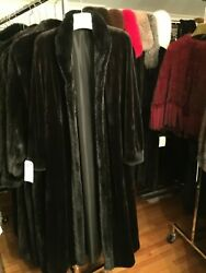 Chicago Fur Mart Size12.reversible Brand New W/tags Sheared Mink Coat 17000.00