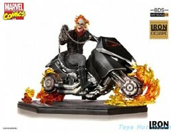 Iron Studios 1/10 Scale Ghost Rider Ccxp 2018 Exclusive Statue Collectible New