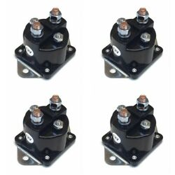 4 Winch Hd Solenoid Relay For Warn 72631, 28396 Fit Xd9000, Xc9000i, 9.5ti