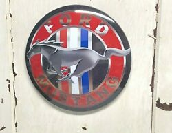 Ford Mustang 17 Metal Dome Sign Garage Mancave Car Truck Tool Automotive