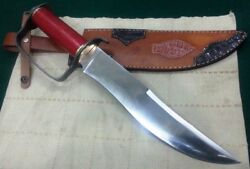 Custom Hand Made Knife Kingand039s Stainless Steel Civil War D-guard Bowie