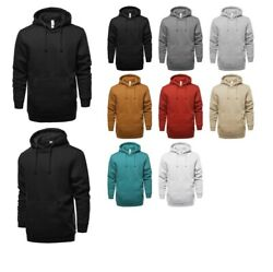 FashionOutfit Men's Causal Solid Heavyweight Fleece Long Sleeve Hoodie