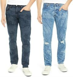 Levi's 501 Fresh Leaves Justin Timberlake Jeans - Men's 31x32 To 38x32 - New+tag