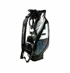 Design Tuning TPU Caddie Golf Club Bag Black-Blue 6Way 9In Sporting Goo_RU $1,056.99