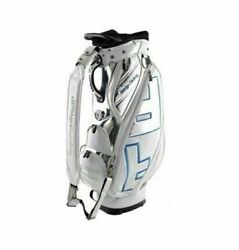 Design Tuning TPU Caddie Golf Club Bag White-Blue 6Way 9In Sporting Goo_RU $1,056.99