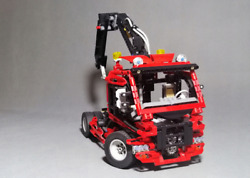 Lego Technic Truck 8436 Excellent Condition With Instructions Complete No Box