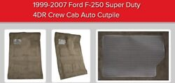 Carpet For Ford F-250 1999-2007 Custom Molded Cutpile Replacement Kit Acc