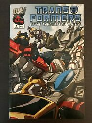 Transformers More Than Meets The Eye Guide 1 2012 Idw Comic Book