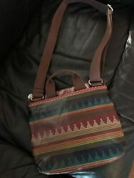FOSSIL PURSE LONG AND SHORT HANDLE CROSSBODY OVER SHOULDER EUC KEY PER LINE $25.00