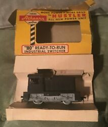 Vintage Athearn Ho The Hustler Industrial Switcher W/original Box Untested