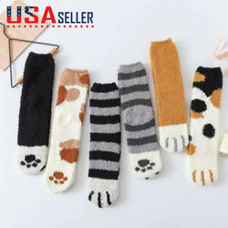 Winter Cat Claws Cute Thick Warm Sleep Floor Socks - US STOCK