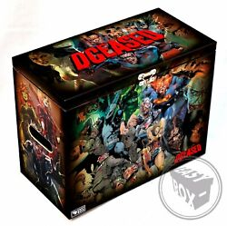 Large Comic Book Hard Storage Box Chest Mdf Dceased