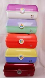 Caboodles On The Go Girl Classic Retro Vintage Makeup Travel Rare Cosmetic Cases $19.99