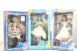 Jun J-dolls, Multiple Selection, Brand New In Box, Free Shipping. Rare X-series