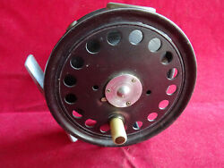 A Superb Rare Vintage 1917/1921 3 3/4 St. George Trout/light Salmon Fly Reel