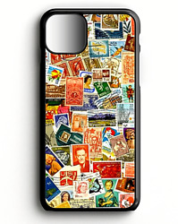 Postal Stamps Collage 2   Phone Case For Iphone   Samsung   Google Pixel 3   Lg