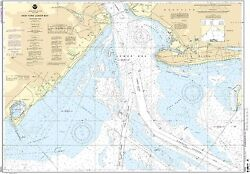 Noaa Chart New York Lower Bay Northern Part 12th Edition 12402