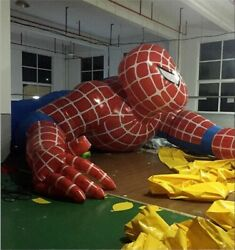 Inflatable Spiderman Cartoon Giant Inflatable Cartoon For Outdoor Advertising Go