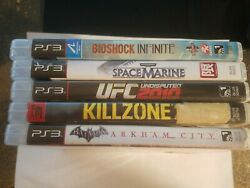 Playstation 3 Video Game Lot / Bundle Of 5. Ps3 Video Games.