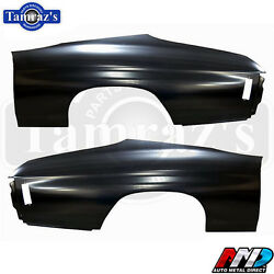 70 71 72 Chevelle Malibu Rear Quarter Panel Skin Patch - New Amd Tooling - Pair