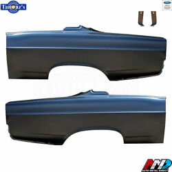 66 Fairlane Fastback Oe Style Rear Quarter Panel Ford Licensed Product - Amd Pr