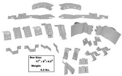 69-70 Mustang Fastback Body Shell Brace Support Bracket Set - 22 Pieces