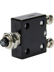 Quickcar Racing Products Circuit Breaker - 20 Amp - Resettable - Each 50-9720