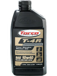 Torco Motor Oil T-4r 10w40 Semi-synthetic 4 Stroke Atv / Motorcycle Andhellip T671044c