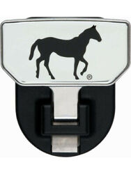 Carr Hitch Step Hd Universal 2 In Receiver Fold-away Embossed Horse Al… 183042