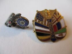 Vtg Military Pin Lot Antique Wwi 1914 British Imperial Relief Fund Diamond Us