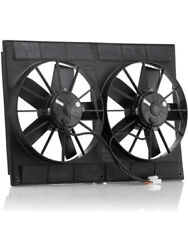 Be-cool Radiators Electric Cooling Fan Qualifier Dual 11 In Fan Puller Andhellip 75007