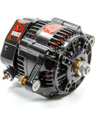 Powermaster Alternator Denso Style Race 150 Amp 12-16v 1-wire No Pulley … 8148