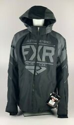 New With Tags FXR Racing Mens Black Ops Clutch Jacket 2XL XXL Snowmobile Jacket $255.00