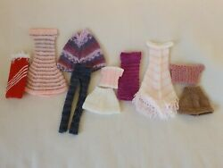 CHOICE OF HAND KNITTED BARBIE SINDY CLOTHES GBP 4.50