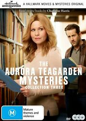 Aurora Teagarden Mysteries 3 Film Collection Three R1 Dvd Hallmark Films 10-12