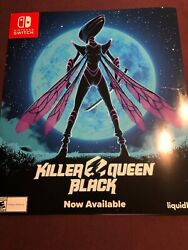 Killer Queen Black Poster Promo Rare