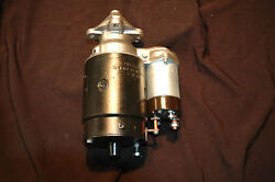1961 Corvette And Chevy 1107889 Delco Starter Dated 1d11 283 Fi 2x4 1x4 Restored