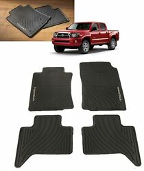 2005-2011 Tacoma Floor Mats All Weather Mats Double Cab Toyota Pt908-35002-02